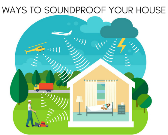 ways to soundproof your house