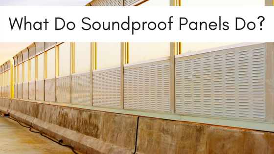 what does soundproof panels do