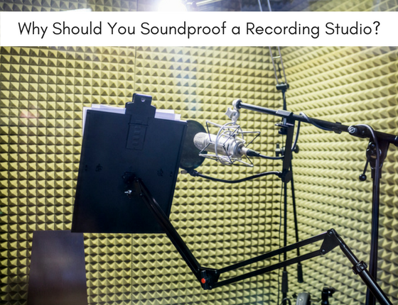 soundproof a recording studio